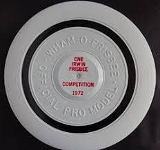 frisbee 1972